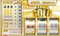 Strike Gold 3-reel progressive slot